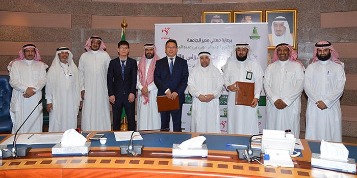 الجامعة توقع اتفاقية تعاون مع المركز الدولي للتعاون والتبادل الثقافي الصيني في المجال التعليمي والثقافي