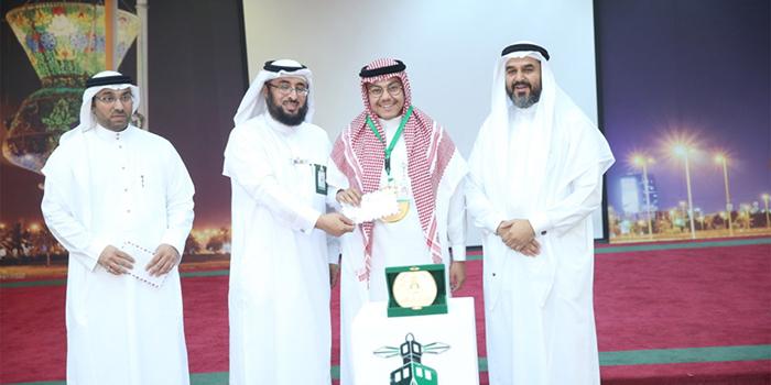 وكيل الجامعة للشؤون التعليمية يرعى 'حفل عمادة الوفاء' السابع